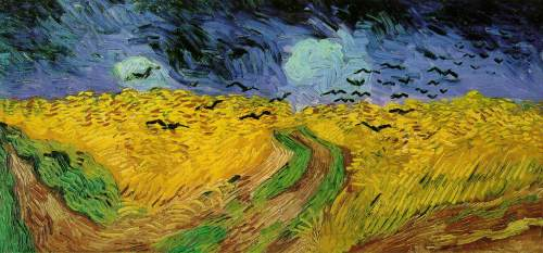 Artist Vincent van Gogh Year early June, 1889 Type Oil on canvas Location Kröller-Müller Museum, Otterlo, Netherlands