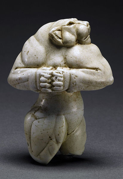 The Guennol Lioness, 3rd Millennium BCE, 3.5 inches high