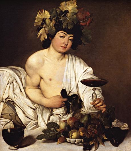 Bacchus (c 1595-96) by Caravaggio