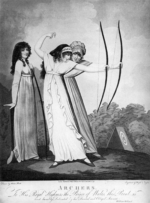 """Archers"",  Buck, 1799"